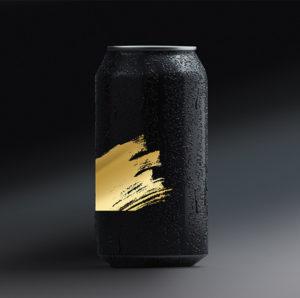 Cannette aluminium noir