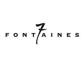 Logo 7Fontaines NB 40x40cm